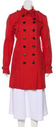 Burberry Knee-Length Trench Coat