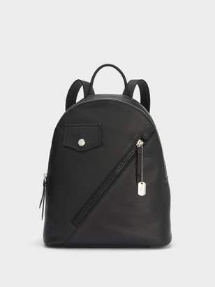 DKNY Jagger Leather Backpack