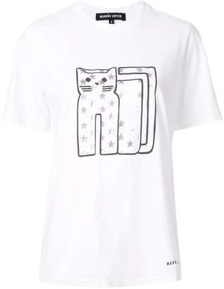 Markus Lupfer cat print T-shirt