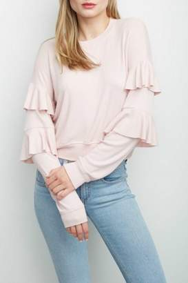 Generation Love Georgia Ruffle Sweatshirt
