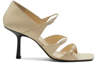 The Row Leather Sandals - Womens - Cream