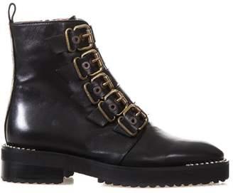 ras Jewel Buckle Boot