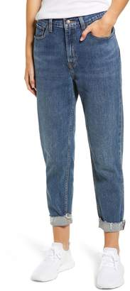 Levi's High Waist Ankle Mom Jeans