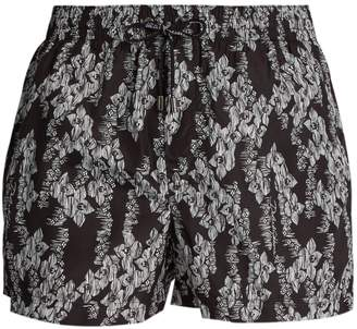 Dolce & Gabbana Hawaiian-print swim shorts