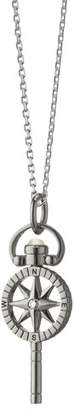 Monica Rich Kosann Mini Compass Pocketwatch Key Necklace