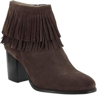 Spring Step Azura by Suede Leather Booties - Bernat