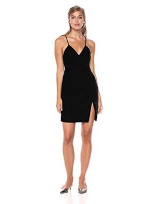 Style Stalker StyleStalker Women's Priscilla WRAP Dress Velvet