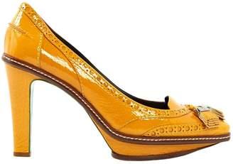 Celine Yellow Patent leather High Heel