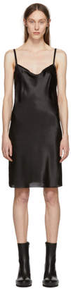 Ann Demeulemeester Black Silk June Slip Dress