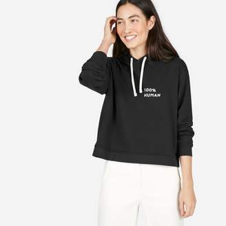 Everlane The 100% Human French Terry Hoodie in Small Print