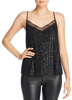 CAMI NYC Lennox Embellished Camisole Top