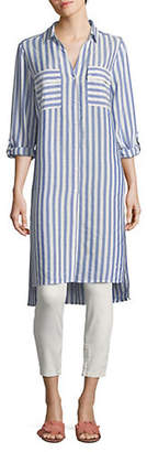 Jones New York Long Striped Tunic