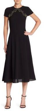 Ralph Lauren Collection Delphine Wool Dress $2,290 thestylecure.com