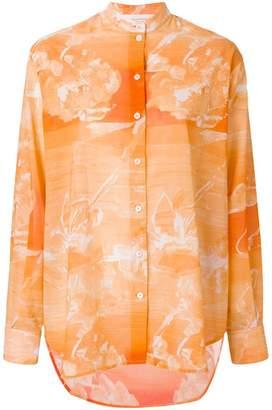 Victoria Beckham marble effect shirt