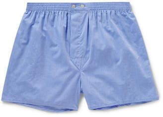 Derek Rose Amalfi Cotton Boxer Shorts
