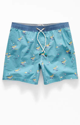 "Party Pants Tan Bananas 16"" Swim Trunks"