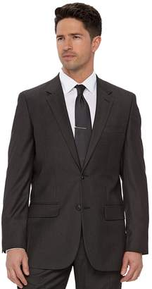 Apt. 9 Men's Slim-Fit Gray Herringbone Suit Jacket
