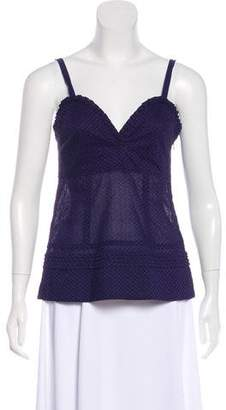 Marc by Marc Jacobs Sweetheart Neck Tank Top