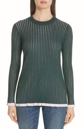 Burberry Tygart Cashmere & Silk Sweater