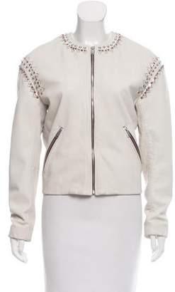 Etoile Isabel Marant Studded Leather Jacket
