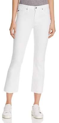 AG Jeans Jodi Crop Jeans in White