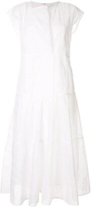 Jil Sander sleeveless poplin midi dress