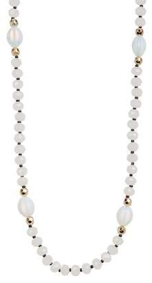 Natasha Accessories Long Beaded Necklace