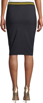 FENTY PUMA by Rihanna Varsity Logo Pencil Skirt
