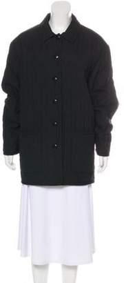 Pendleton Quilted Short Coat Black Quilted Short Coat