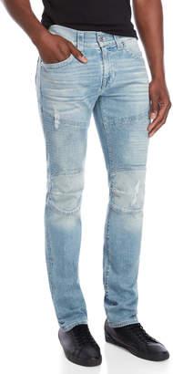 True Religion Light Wash Slim Fit Jeans