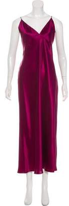 Olivia von Halle Silk Maxi Dress