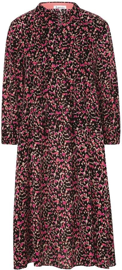 Longer Isla Shirt Dress Classy Leopard Print