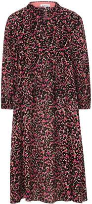 Libelula Longer Isla Shirt Dress Classy Leopard Print