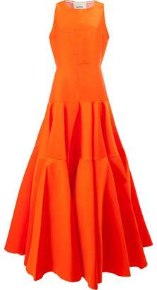 Maison Rabih Kayrouz pleated waist dress