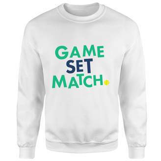 The Tennis Collection Game Set Match Sweatshirt
