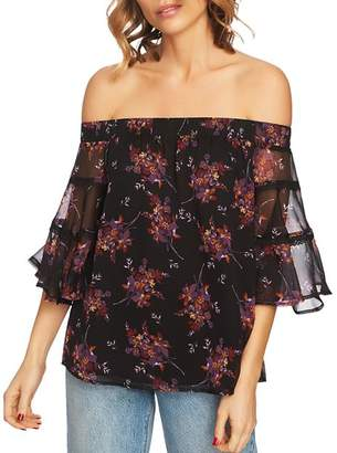 1 STATE 1.STATE Wildflower Off-the-Shoulder Top