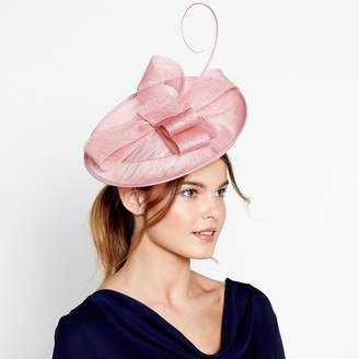 J by Jasper Conran Pink Soft Knot Mini Disc Fascinator