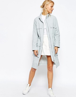 ASOS Rain Trench in Longline $81 thestylecure.com