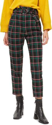 Topshop Punk Check Trousers