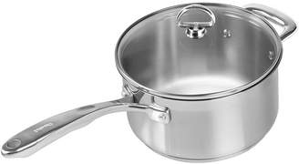 Chantal Induction 21 Steel 3-qt. Saucepan with Glass Lid
