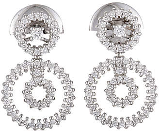 Damiani 18K 0.70 Ct. Tw. Diamond Earrings