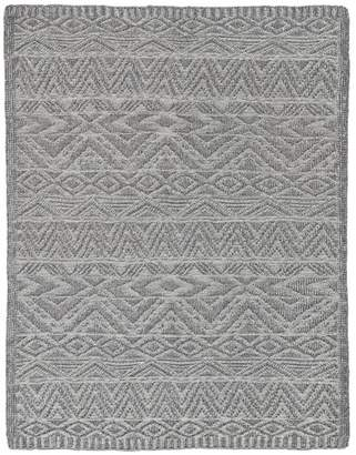Kas Charcoal Kasha Throw