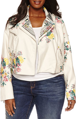 BOUTIQUE + Ashley Nell Tipton for Boutique + Motorcycle Jacket-Plus $125 thestylecure.com