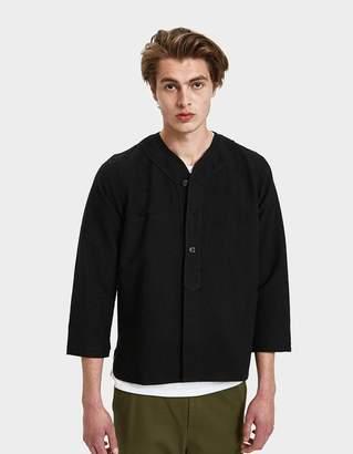 6a2e7cd9a Visvim Chambray Dugout LS Shirt in Black