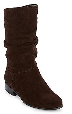 JCPenney St. John's Bay® Jamie Suede Slouch Boots