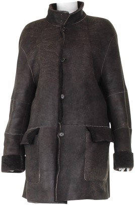 Burberry Brown Suede Coats