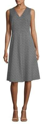 Max Mara Filippo Neck Tie Sleeveless Dress