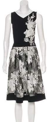 D-Exterior D. Exterior Embroidered Midi Dress
