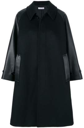 Tomas Maier compact wool coat