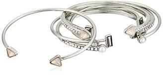 GUESS Women's Bangle Bracelet Set